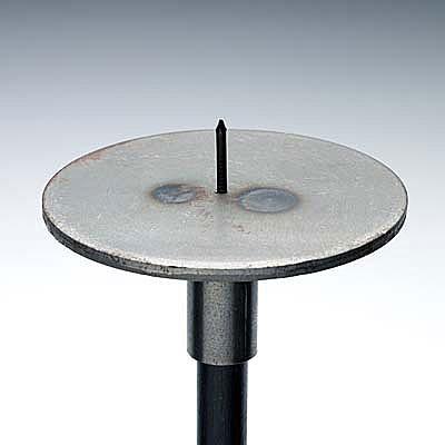 rondell 130mm mit dorn f r kerze preis pro st ck rondelle130. Black Bedroom Furniture Sets. Home Design Ideas