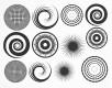 DECAL NR. 14 LARGE CIRCLES-2 (PLATIN) MAX. 800°C, <br><i>Preis pro Stück</i>