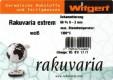 WITGERT TON  RAKUVARIA  EXTREM, WEISS <br><i>Preis pro 10 kg</i>