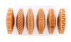 Textur Fingerroller, FR Hartholz Musterbreite 8mm