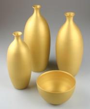 GOLD ENGOBE EM 083 flüssig, MAX. 1100°C,  Preis pro 500 ml Dose