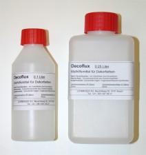 DECOFLUX / MALHILFSMITTEL FÜR DEKORFARBEN , <br><i>Preis pro 0.1 Liter</i>