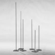 STELE HÖHE 950 MM, SCHWARZSTAHL, <br><i>Preis pro Stück</i>