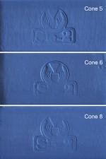 PORZELLAN, UPSALA BLAUER DREHTON, MAX. 1240°C, <br><i>Preis pro 5kg</i>