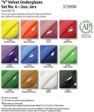 AMACO VELVET-SET NR.4, 12 DOSEN À 59 ML <br><i>Preis pro Set</i>