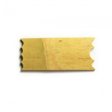 KONTUR-DREHSCHIENE NR. 5 HOLZ (9 X 4CM), <br><i>Preis pro Stück</i>