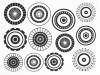 DECAL NR. 11 LARGE CIRCLES-1 (GOLD) MAX. 800°C, <br><i>Preis pro Stück</i>