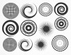 DECAL NR. 13 LARGE CIRCLES-2 (GOLD) MAX. 800°C, <br><i>Preis pro Stück</i>