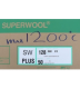 SUPERWOOL PLUS 1200°C 50 MM ROLLE, <br><i>Preis pro Rolle</i>